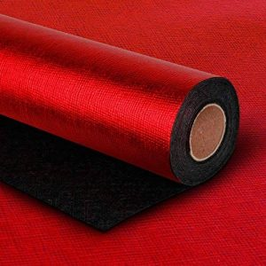 "LaRibbons Solid Color Gift Wrapping Paper Roll 30 ""X 16.5 '- 42 Sq Ft - Passionate Rrouge de la marque LaRibbons image 0 produit"