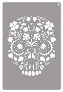 Le Nœud papillon 090015°C Pochoir, St-15, modèle Tête de mort de la marque La Pajarita image 0 produit
