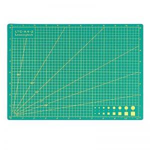 """'Leaning Tech LTC® A4(11""""x 8) Tapis de découpe Découper PVC même Heile thermique Surface, 5couches, double face 3mm d'épaisseur, antidérapant vert de la marque Leaning Tech image 0 produit"""