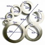 Leathercraft Outil pour cuir d'angle et cercle Modèle de guide de coupe Guide pour cuir Fonctionne–faite d'acier inoxydable en anglais de la marque Leather Pro image 3 produit