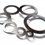 Leathercraft Outil pour cuir d'angle et cercle Modèle de guide de coupe Guide pour cuir Fonctionne–faite d'acier inoxydable en anglais de la marque Leather Pro image 1 produit