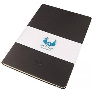 Leda Art Supply - Carnet de croquis - grande qualité/taille moyenne (14 x 21 cm) - 160 pages/résistant aux déchirures/encre ne traverse pas de la marque Leda Art Supply Limited image 0 produit