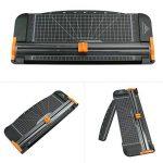 Letion Rogneuse A4 en titane avec sécurité automatique pour découpe de papier standard/photos/étiquettes Noir noir de la marque LETION image 1 produit