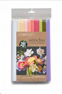 Lia Griffith Extra Fine papier crépon, 10, assortis de la marque Lia Griffith image 0 produit