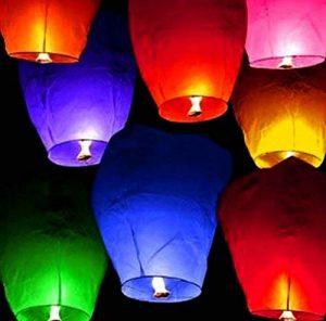 lintimes lanternes volantes en forme de cœur de la marque LinTimes image 0 produit