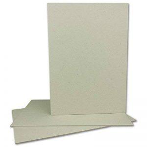 Livre de Fils en carton format A4–Épaisseur 2mm–Grammage: 1230g/m²   Format: 29,7x 21,0cm   couleur: gris/marron de la marque Neuser image 0 produit