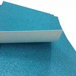 Lot de 10 feuilles de papier cartonné pailleté A4 pour carte DIY Cadeau d'anniversaire de Noël décoration patchwork Bling bling Bleu de la marque SuperHandwerk image 3 produit