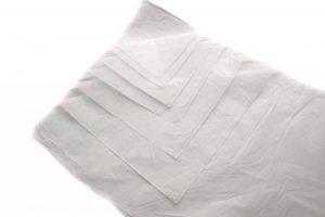 Lot de 100feuilles de papier de soie sans acide Blanc–Taille 500mm x 750mm 50,8x 76,2cm 18g/m² Emballage–Emballage de colis Cadeau Art Craft Wrap de la marque UKPS image 0 produit