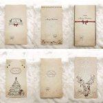 Lot De 12 sacs-cadeaux de Noël Papier kraft Pochette Noël Cadeau Sac Noël 12 x 6 x 22 cm Mariage Anniversaire Fete de la marque MARFORT image 1 produit