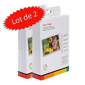 Lot de 2 boites de papier Photo 10x15 cm Brillant 260 gr pack de 100 feuilles chacune de la marque LCD image 0 produit
