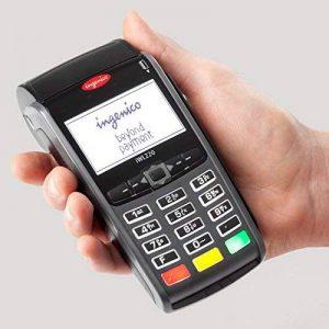 Lot de 20 rouleaux de papier thermique compatible TPE Ingenico iWL220 pour cartes de crédit Rouleaux de papier pour terminal de paiement électronique de la marque UNIVERS GRAPHIQUE image 0 produit
