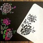 Lot de 24 pochoirs pour le dessin, le bricolage, la peinture-Juuly de la marque image 4 produit