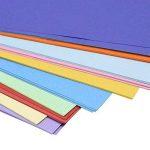 Lot de 400feuilles de papier origami double face 4 tailles, 10couleurs vives assorties et 100yeux mobiles de la marque Sunerly image 3 produit