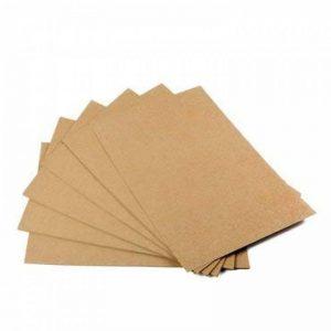 Lot de 50feuilles de papier kraft brun naturel au format A3 - Haute qualité - 260g de la marque EAST-WEST Trading image 0 produit