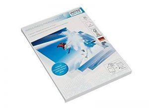 Lot de 50 feuilles de papier photo A4 PREMIUM Jet d'Encre • Très brillant • 280 g/m² A4 210 x 297 mm (50) de la marque United Office image 0 produit