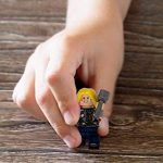 Lot de 50 Pièces de Jeu SuperHeroes Mini Figurines, Personnages de vos Films de Super-héros Préférés, Jouet Educatif, Beau Cadeau pour les Amateurs de Lego, Anniversaires, Fêtes et Vacances, Compatible avec Lego. de la marque Kompanion image 2 produit