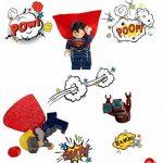 Lot de 50 Pièces de Jeu SuperHeroes Mini Figurines, Personnages de vos Films de Super-héros Préférés, Jouet Educatif, Beau Cadeau pour les Amateurs de Lego, Anniversaires, Fêtes et Vacances, Compatible avec Lego. de la marque Kompanion image 1 produit