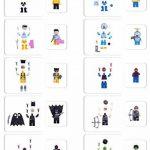 Lot de 50 Pièces de Jeu SuperHeroes Mini Figurines, Personnages de vos Films de Super-héros Préférés, Jouet Educatif, Beau Cadeau pour les Amateurs de Lego, Anniversaires, Fêtes et Vacances, Compatible avec Lego. de la marque Kompanion image 4 produit