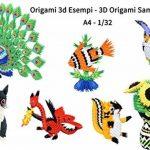Lot de 500papiers colorés pour Origami en 3D, pré-marqué avec arêtes sur les lignes de pli, pliage facile et rapide, pour créer des modules pour Origami modulaires en 3D, sur base 1/32, égal à ceux que l'on obtient avec une feuille A4 de 90g, papier ita image 3 produit