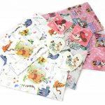 Lot de 6–2x 3designs disney Character feuilles de papier cadeau et étiquettes de la marque Disney image 1 produit