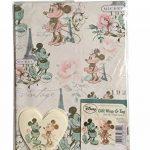 Lot de 6–2x 3designs disney Character feuilles de papier cadeau et étiquettes de la marque Disney image 4 produit