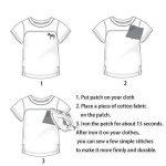 Lot de 7patchs thermocollants ou à coudre - Motifs : Pirates - Pour vêtements, jeans, sacs à dos, écharpes, T-shirts - Pour hommes de la marque MIWIND image 2 produit