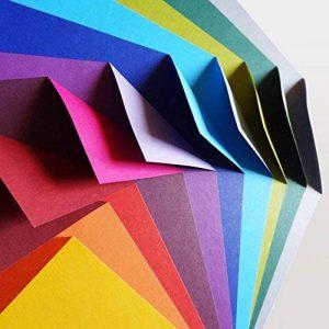 Lot de Papier pour Origami 100feuilles | Complementary Colour Collection de la marque Folded Square Origami image 0 produit