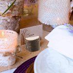LULUNA 10pcs porte-cartes en bois table support photo carte Notes de message pour fête de mariage, les fêtes, les anniversaires de la marque LULUNA image 2 produit