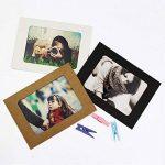 LULUNA Cadre photo carton 10 PCS Set bricolage cadres suspendus de papier kraft pour les photos décoration de la maison, 3 couleurs combiner de la marque LULUNA image 4 produit