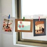 LULUNA Cadre photo carton 10 PCS Set bricolage cadres suspendus de papier kraft pour les photos décoration de la maison, 3 couleurs combiner de la marque LULUNA image 3 produit