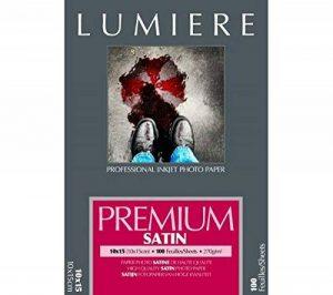 LUMIERE Papier Premium 270gr RC Semi-Brillant 10 x 15 cm - 100 feuilles de la marque Lumiere image 0 produit
