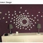 Luxbon Carton 3D Papillon Autocollant Bricolage avec Collant Double-Face Blanc 100pcs de la marque Luxbon image 4 produit