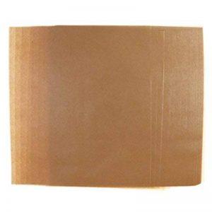 MagiDeal 50pcs Papier Sulfurisé en Feuilles Ingraissable pour Cuisson Emballage Alimentaire 22 x 25 cm - Brun unie de la marque MagiDeal image 0 produit