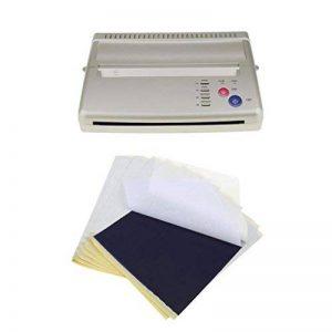 MagiDeal Set de Prof Machine Imprimante Tattoo Transfer Copier Thermal Stencil EU Prise+ 10pcs Papier Transfert de la marque MagiDeal image 0 produit