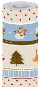 Maildor 211300C Rouleau de Papier Cadeau 50 x 0,70M Motif Renne et Père Noël de la marque Clairefontaine image 0 produit