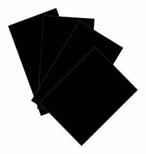 Maison de papier de carte et A2carte 220g/m²–Noir (Lot de 50feuilles) de la marque House of Card & Paper image 0 produit