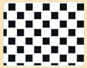 Mallard Ferriere - Grille Pochoir Damier de la marque mallard ferrière image 0 produit
