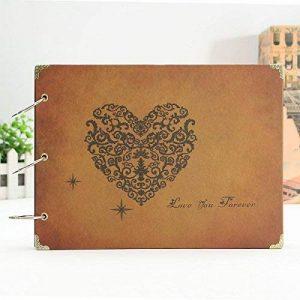Mamachu Diy Scrapbook Vintage Photo Album Pour Mariage Anniversaire fête des Mères de la marque MAMACHU image 0 produit