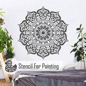 MANALI Meubles Mur Sol Pochoir Pour Peinture - 18cm de la marque Dizzy Duck Designs image 0 produit