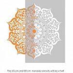 MANALI Meubles Mur Sol Pochoir Pour Peinture - 18cm de la marque Dizzy Duck Designs image 2 produit