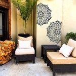 MANALI Meubles Mur Sol Pochoir Pour Peinture - 18cm de la marque Dizzy Duck Designs image 3 produit