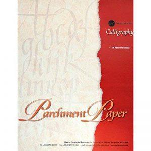 Manuscript Bloc-notes papier parchemin spécial calligraphie A4 de la marque Manuscript image 0 produit