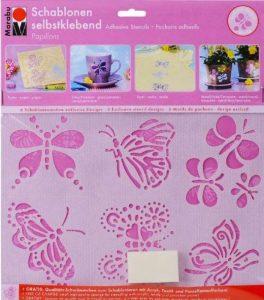 Marabu Pochoir de 027400006–Autocollant Papillons A5 de la marque Marabu image 0 produit