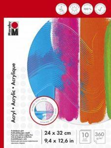 Marabu Pochoir Motif 161200014pour peinture acrylique avec couleurs–24x 32cm–360g de la marque Marabu image 0 produit
