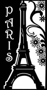 Marabu Pochoir Motif Paris romantique Format A4 de la marque Marabu image 0 produit