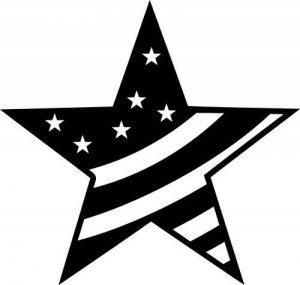 Marabu Pochoir pour peinture Motif étoile rayée 30 x 30cm de la marque Marabu image 0 produit