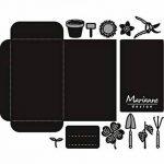 Marianne Design CR1395 Graines de poche et outils de jardin Matrice de Découpe Métal Gris 17,5 x 15 x 0,5 cm de la marque Marianne Design image 2 produit