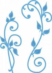 Marianne Design LR0271 Dies de Découpe Dessin Tourbillon Rétro Métal Bleu 2,9 x 8,2 x 0,4 cm de la marque Marianne Design image 0 produit