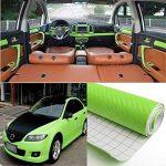 mark8shop 200cm x 40cm bricolage fibre de carbone vinyle pour rouleau de film autocollant voiture en feuille de la marque Mark8shop image 1 produit