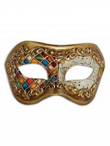 Masque pour les yeux vénitiens Colombina Eugenia pour homme et femme de la marque Magic of Venezia image 0 produit